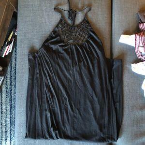 Rip Curl long black dress